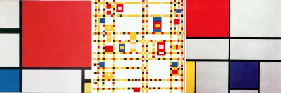 Mondrian for Kids Art Lesson